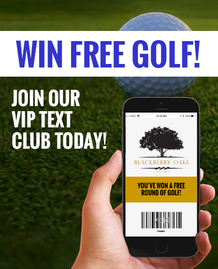 Blackberry Oaks Golf Course – SENIOR LEAGUE